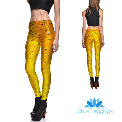Cold Beer Leggings - Lotus Leggings
