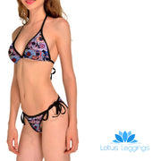 DAY OF THE DEAD BIKINI - Lotus Leggings