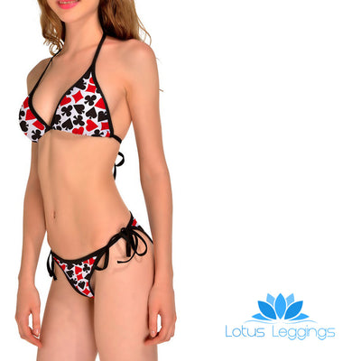 DECK OF CARDS BIKINI - Lotus Leggings
