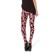 DECK OF CARDS LEGGINGS - Lotus Leggings