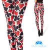 DECK OF CARDS LEGGINGS