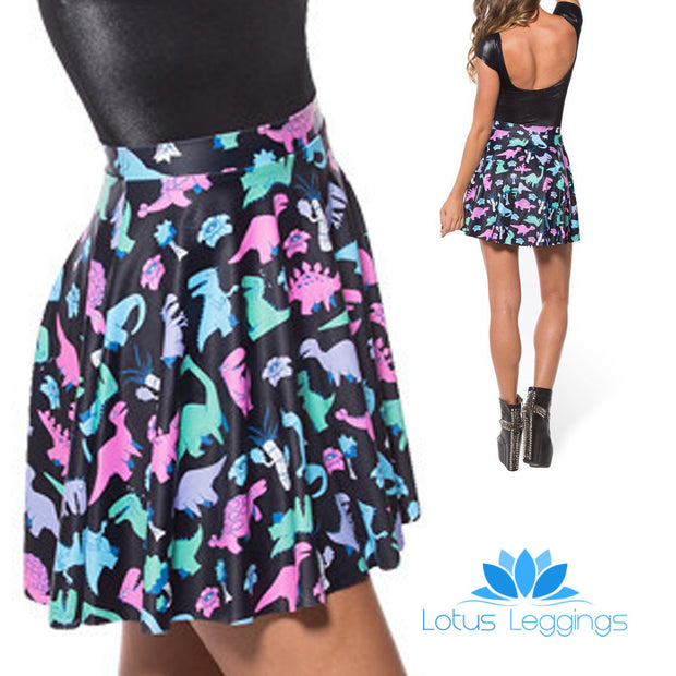DINOSAUR SKATER SKIRT - Lotus Leggings