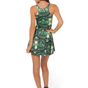 DOLLA DOLLA BILL REVERSIBLE SKATER DRESS - Lotus Leggings