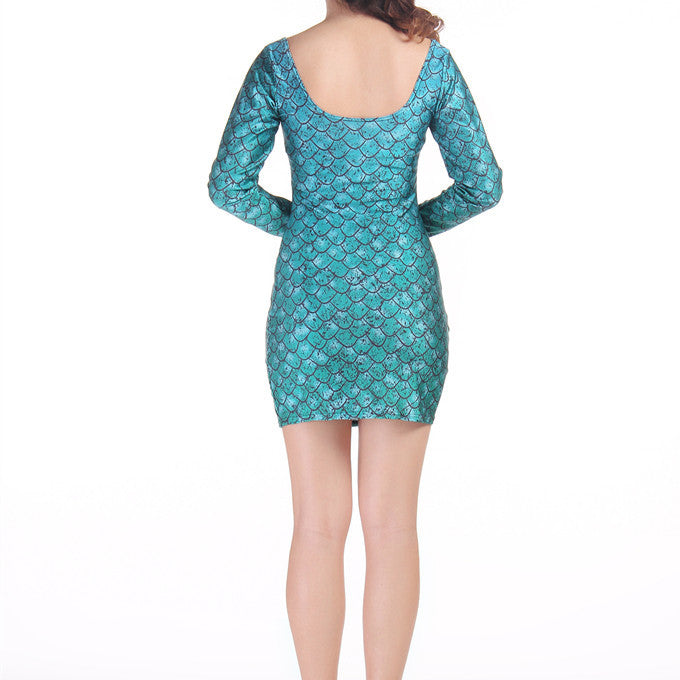 DRAGON EGG LONG SLEEVE DRESS - Lotus Leggings
