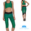 DRAGON SCALE ATHLETIC SET