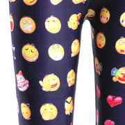 EMOTICON LEGGINGS - Lotus Leggings
