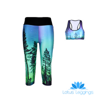 ENCHANTED FOREST ATHLETIC SET