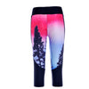ENCHANTED FOREST ATHLETIC CAPRI