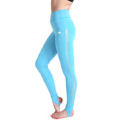 Baby Blue Grip MeshX Leggings