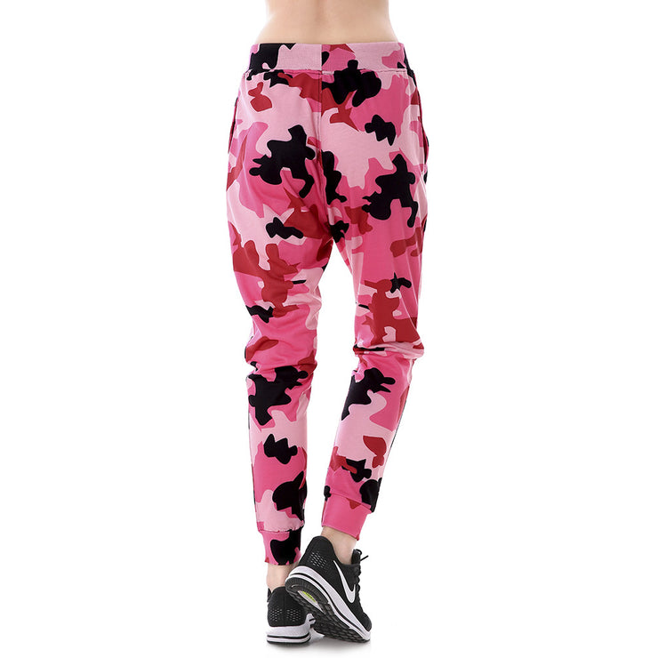 Cotton Candy Camo Joggers - Lotus Leggings