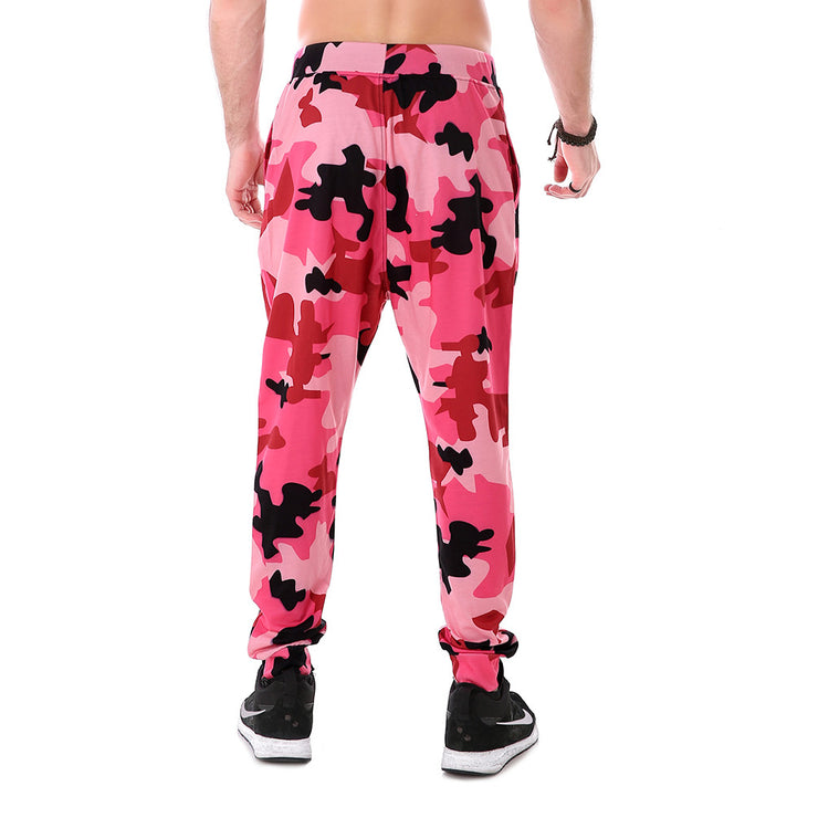 Pink Cooler Camo Joggers - Lotus Leggings