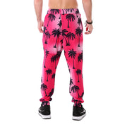 Summer Palms Joggers - Lotus Leggings