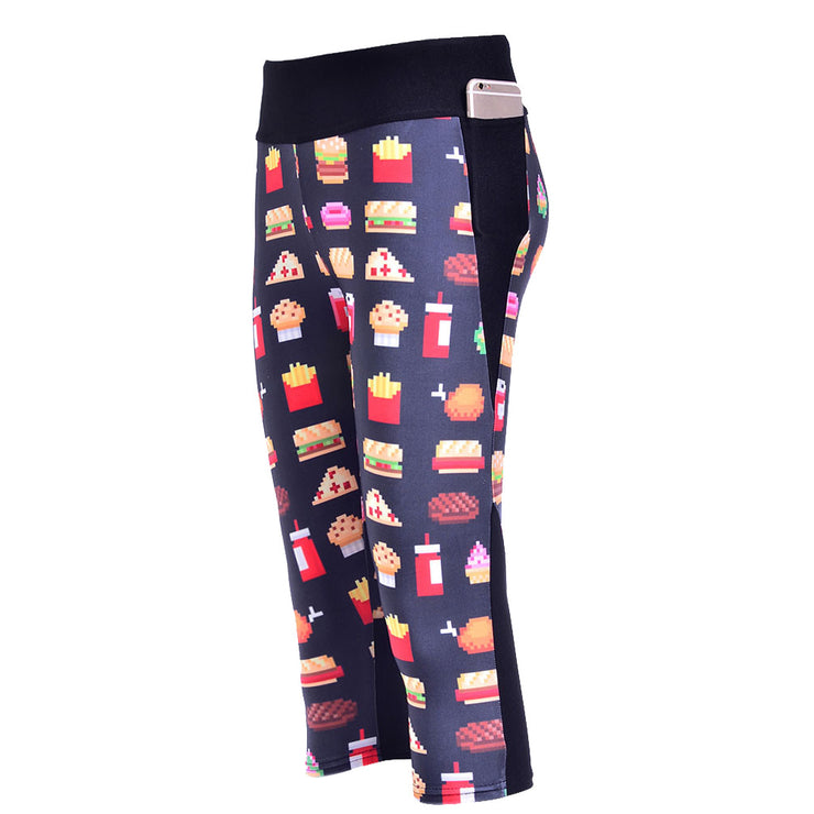 FAST FOOD YUM ATHLETIC SET - Lotus Leggings