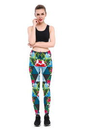 Flamingo Paradise Leggings