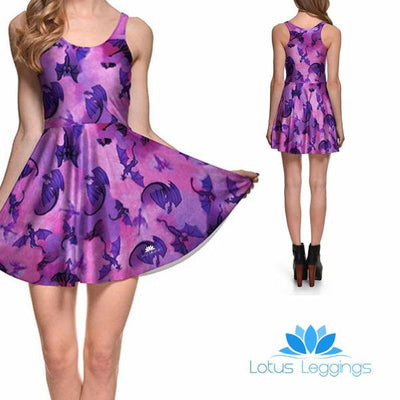 FLYING DRAGON SKATER DRESS