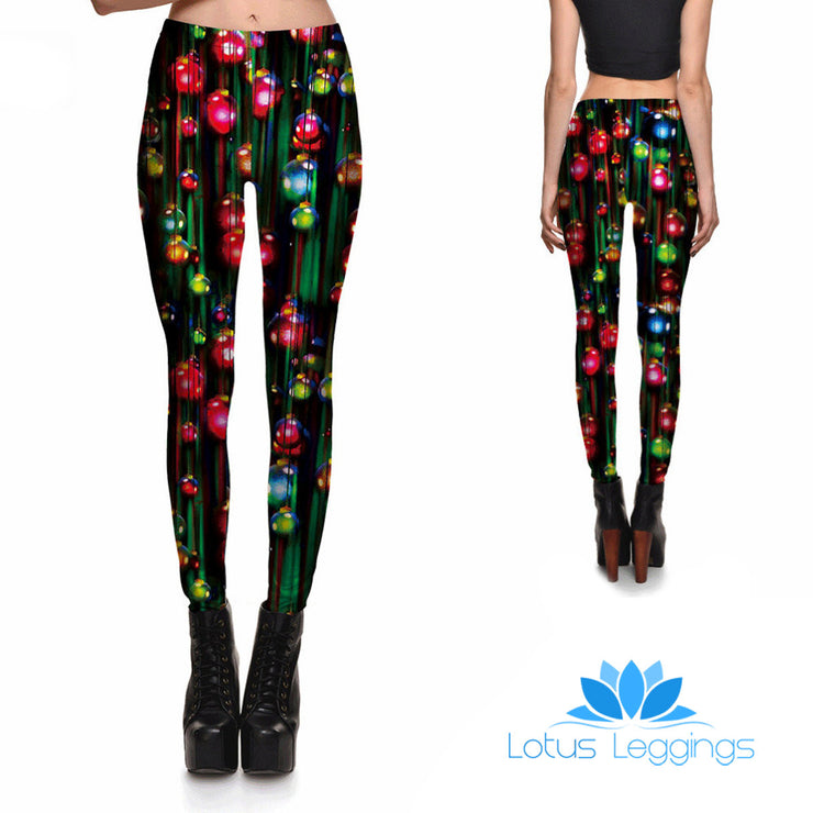 O Christmas Tree Leggings - Lotus Leggings