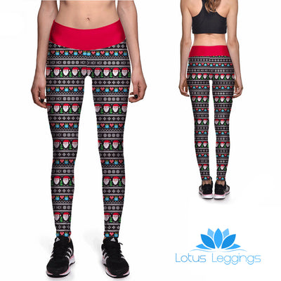 Nice List Athletic Leggings - Lotus Leggings