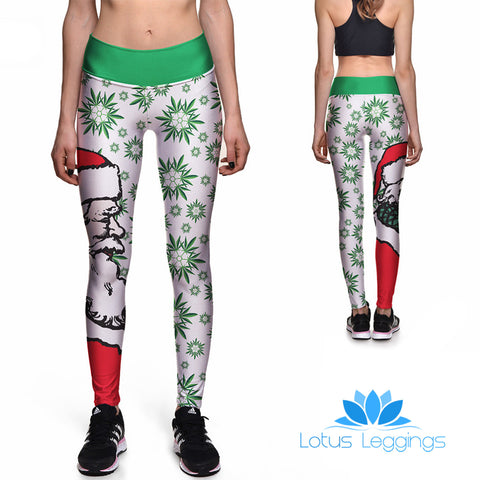 Santa Babe Athletic Leggings