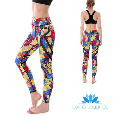 Fruity Flowers MaxPerformance Leggings