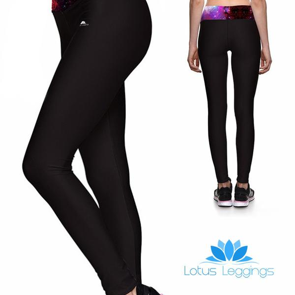 GALAXY BAND ATHLETIC LEGGINGS