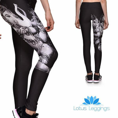 GANESHA ATHLETIC LEGGINGS