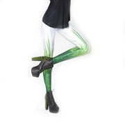 GRASS LEGGINGS - Lotus Leggings