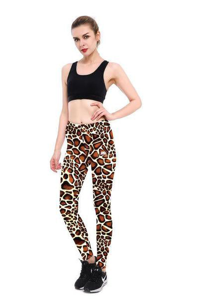 65a3b9625ef32 Giraffe Pattern Leggings – Lotus Leggings