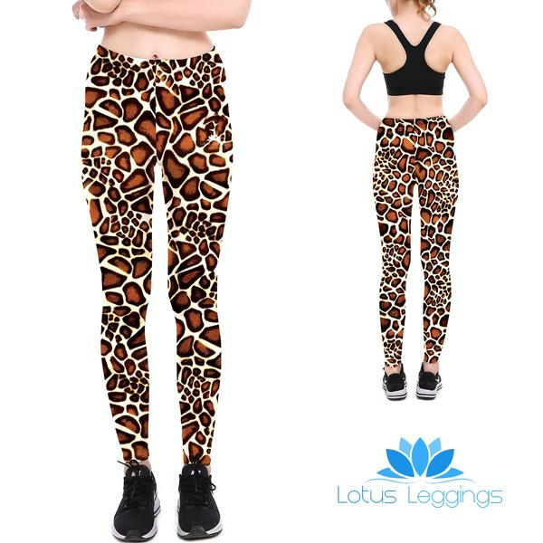 Giraffe Pattern Leggings