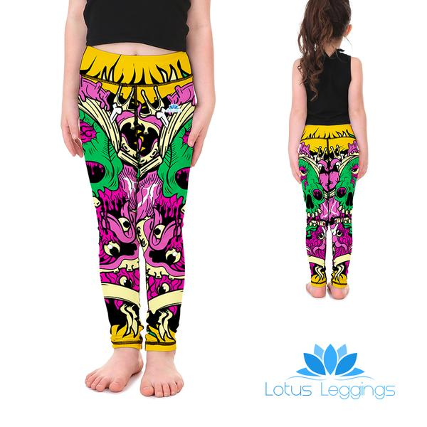 Gooey Skulls Kid's Leggings