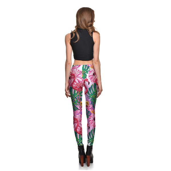 Gradient Flamingo Leggings