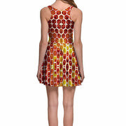 HONEY COMB SKATER DRESS - Lotus Leggings