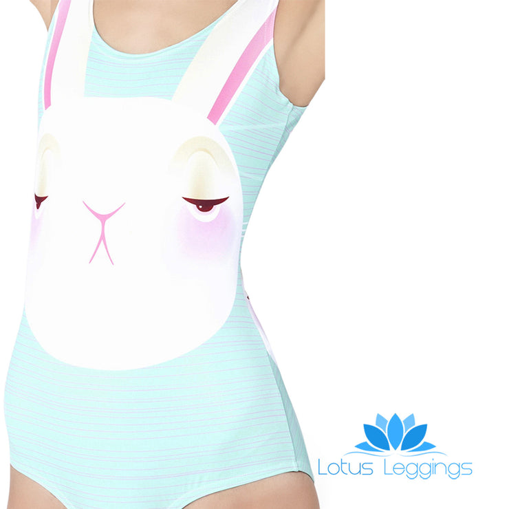 IMPRESSED BUNNY ONE PIECE SWIMSUIT - Lotus Leggings