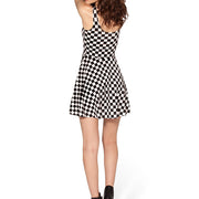 INDY CHECK SKATER DRESS - Lotus Leggings