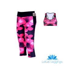 JELLY FISH ATHLETIC SET - Lotus Leggings