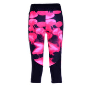 JELLYFISH ATHLETIC CAPRI - Lotus Leggings