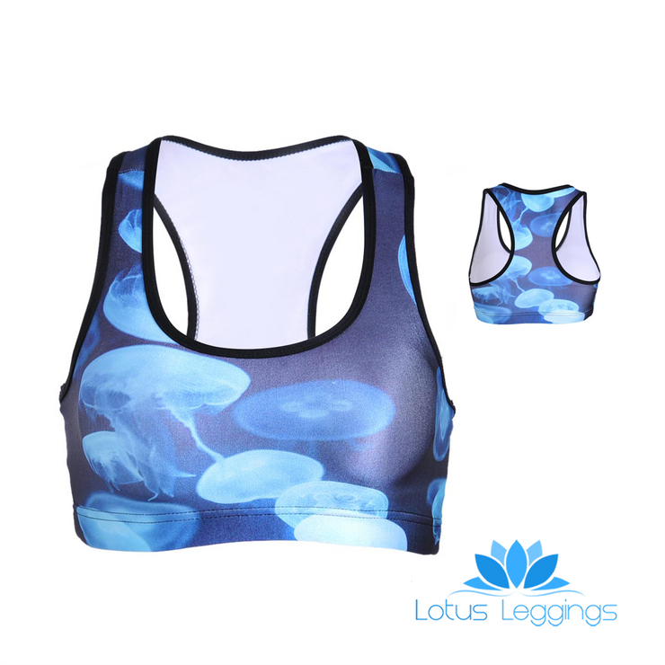 JELLYFISH SPORTS BRA - Lotus Leggings