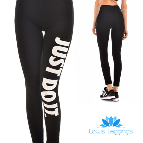 DO IT LEGGINGS - Lotus Leggings