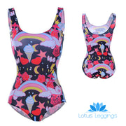 KAWAII ONE PIECE SWIMSUIT - Lotus Leggings