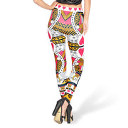 KING OF HEARTS LEGGINGS - Lotus Leggings