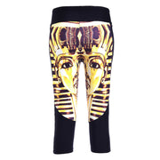 KING TUT ATHLETIC CAPRI - Lotus Leggings