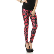 KISS MARKED LEGGINGS - Lotus Leggings