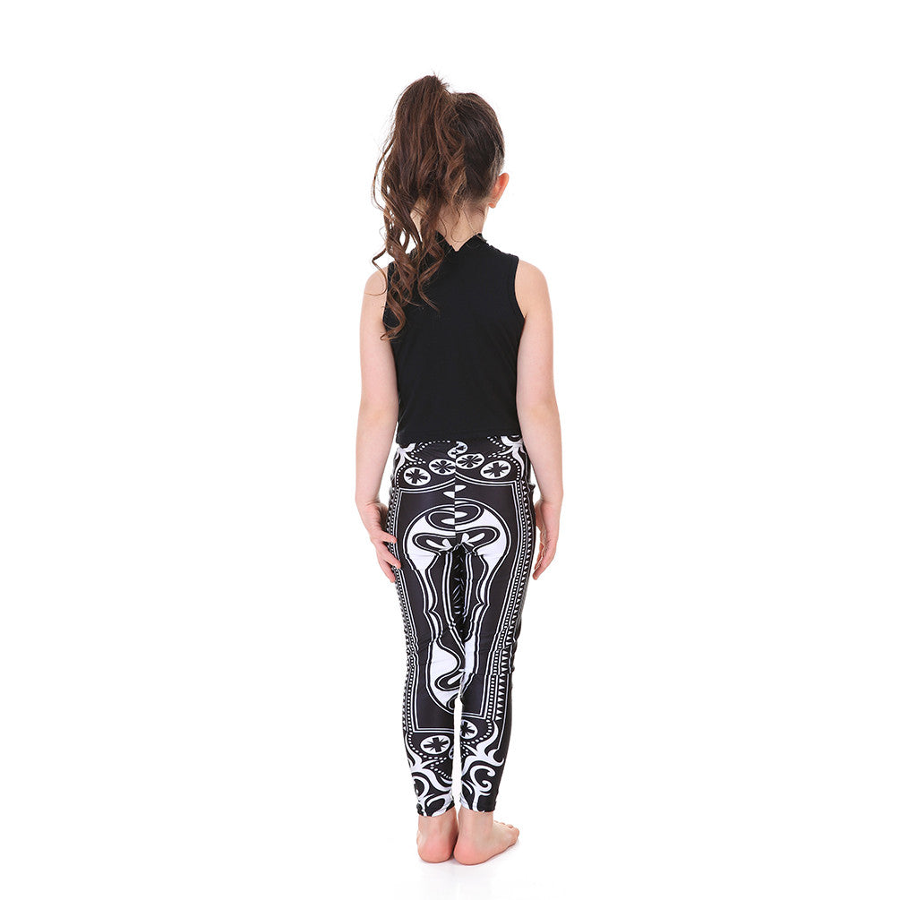 Kid's Princess of Hearts Leggings - Lotus Leggings