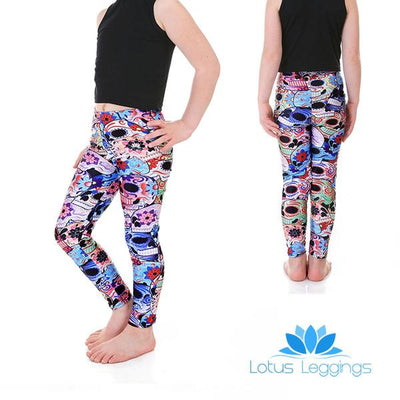 Kid's Day of the Dead Leggings