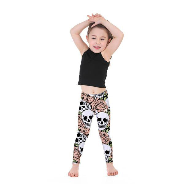 Kid's Forbidden Rose Leggings