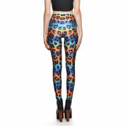 LEOPARD TECHNICOLOR LEGGINGS - Lotus Leggings