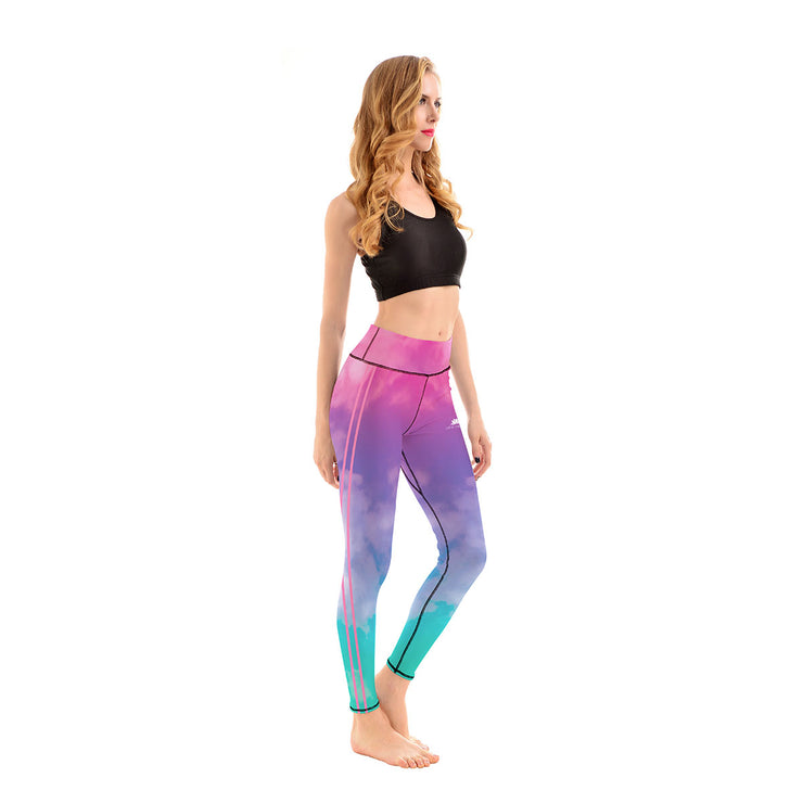 LotusX™ Pastel Cloud Leggings