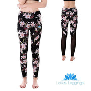 Pink Floral MaxReveal Leggings