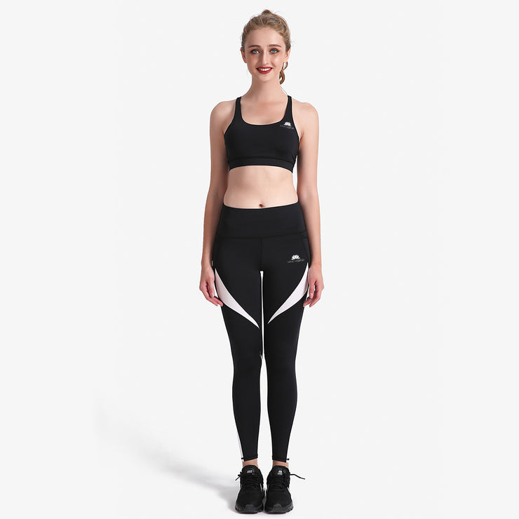 B&W MaxCross Leggings - Lotus Leggings