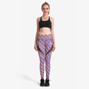 Colorful G MaxCross Leggings - Lotus Leggings