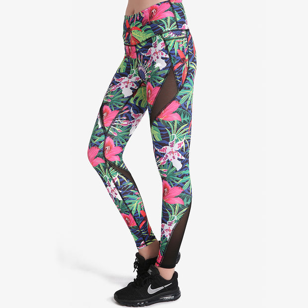 Aloha MaxCross Leggings - Lotus Leggings